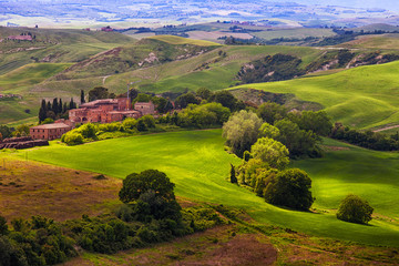 Beautiful rural summer landscape, Italy © Shchipkova Elena