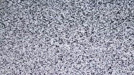 White noise, noise on TV