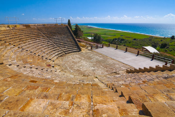 cyprus old ancient theatre