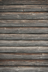 Detail on old wooden wall