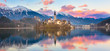 Bled in sunset, Slovenia, Europe. - 79972000