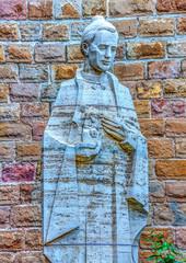 Details from the Sagrada Familia church in Barcelona, Spain