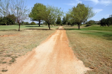 Golf course,La Sella, Denia, Alicante, Spain