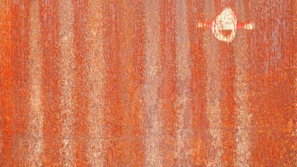 Metalloberfläche - Rost