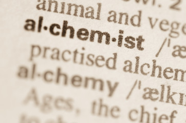 Dictionary definition of word alchemist