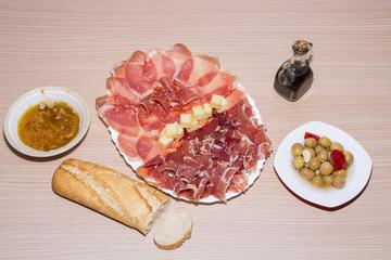 Dieta Mediterránea.