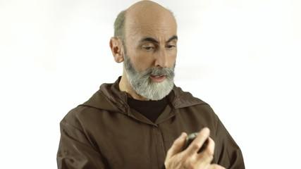 Friar smartphone trouble nervous
