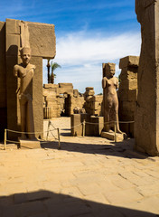 Karnak temple complex in Luxor, Egypt.