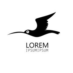 bird silhouette sign
