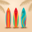 Surf boards with different design