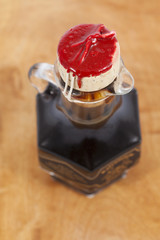 Balsamic vinegar bottle