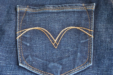 Pocket of jeans