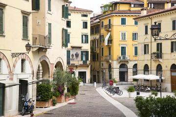 Street in Verona city center