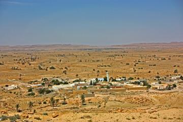 ville dans dle désert