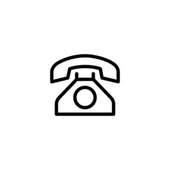 Phone  - Trendy Thin Line Icon