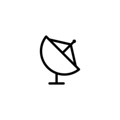 Satellite - Trendy Thin Line Icon