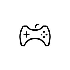 Gamepad - Trendy Thin Line Icon