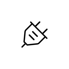 Plug - Trendy Thin Line Icon