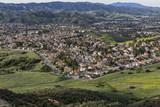 Ventura County Suburban Spring near Los Angeles California