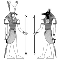 figure of ancient egypt deities