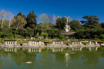 Fountain of Ocean in Island Fountain, Boboli Gardens, Florence