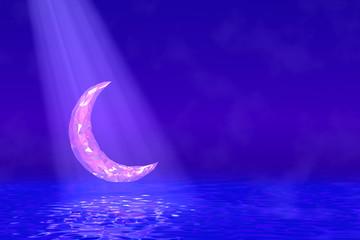 The moon of the jewel 宝石の月