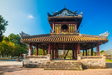 Citadel at Hue in Vietnam