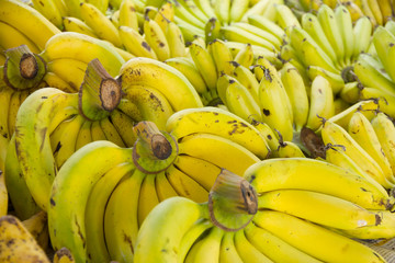 Bananas on a Market - Stock Image