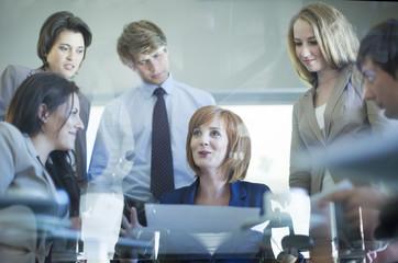 Business-Treffen im Konferenzraum