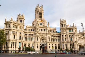 Cibeles Palace in Madrid