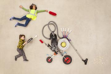 Kinder entwickeln neue Haushaltsgeräte