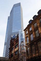 Europa, Deutschland, Hessen, Frankfurt am Main, Kaiser Karree Gebäude vor der Europäischen Zentralbank