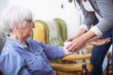 Medizinische Versorgung zu Hause