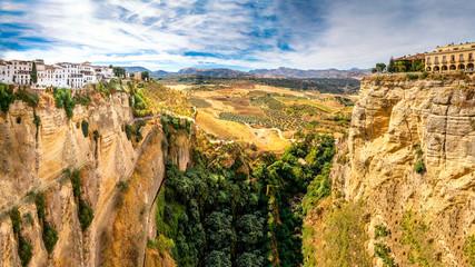 Spanien, Andalusien, Provinz Malaga, Ronda, Panorama