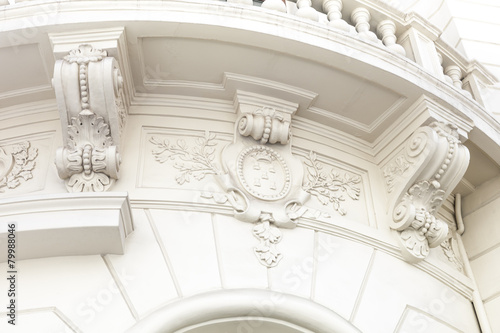 edle Hausfassade in Spanien  - Detail - 79988046