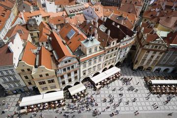 Tschechische Republik, Prag, Altstadt, erhöhte Ansicht