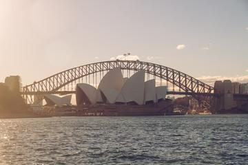 Australien, Sydney, die Harbour Bridge und das Opernhaus