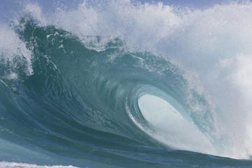 USA, Hawaii, Oahu, Big Wave, close-up
