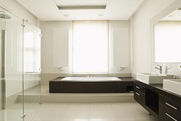 Deutschland, Berlin, Modernes Badezimmer