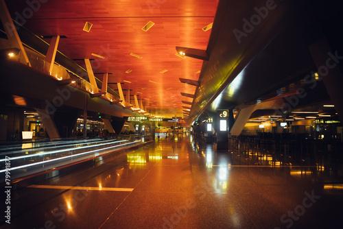 Fotobehang Luchthaven Doha