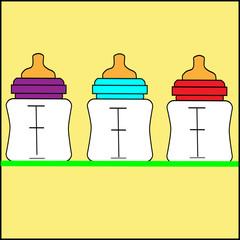 Baby Goods: Milk in Bottle