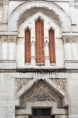 Detail on the Masonic Lodge in Perigueux