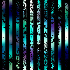Grunge vertical strips on black background.