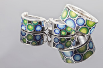 Beautiful colorful jewelry