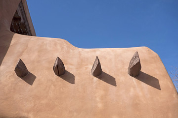 Traditional adobe house New Mexico