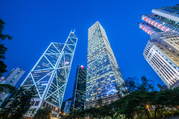 Hong Kong - JULY 31, 2014: Bank of China office on July 31 in