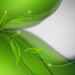 abstract environmental vector background