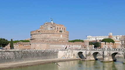Castle of San Angelo, Rome, Italy