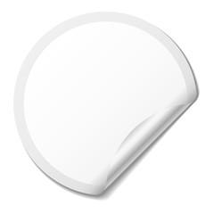 Sticker blanc