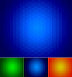 Set of geometric style abstract shiny backgrounds